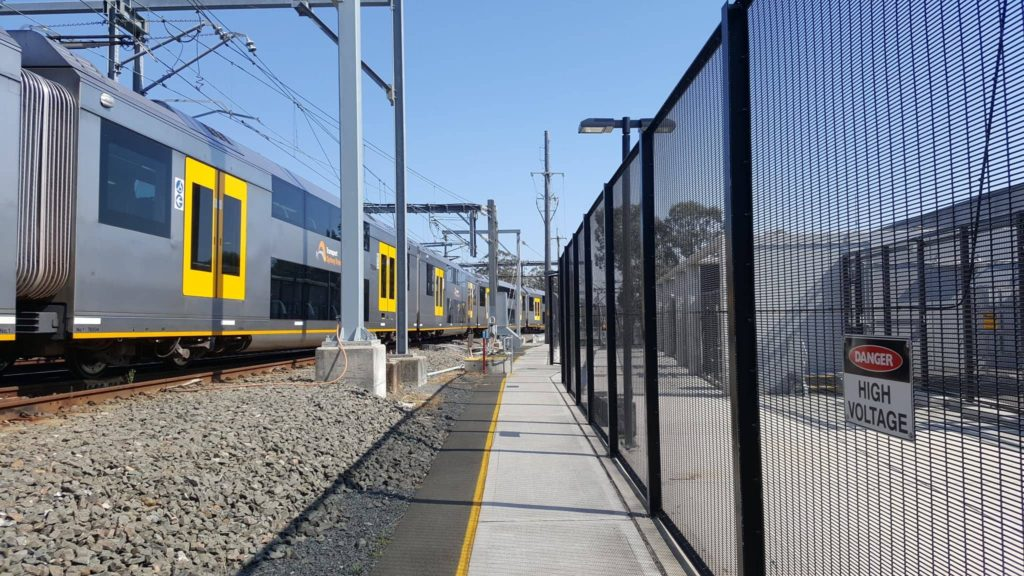 Sydney Trains Security Fencing, NSW
